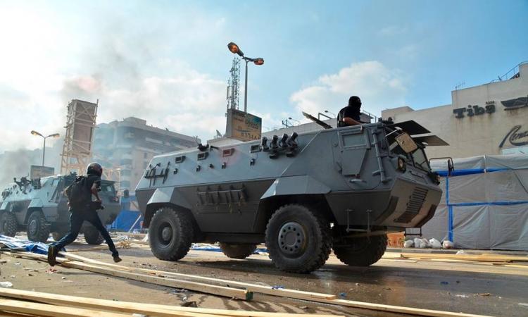 اشتباكات عنيفة بالإسماعيلية بين الجماعة الارهابية والأمن