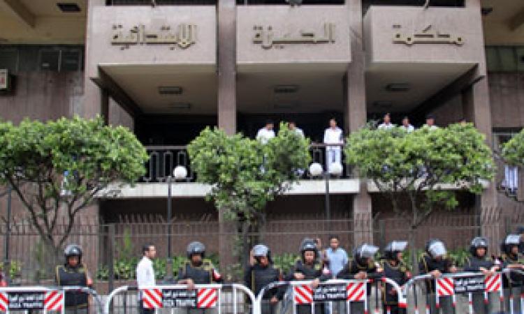 خبراء المفرقعات ينتقلون إلى محكمة جنوب الجيزة بعد بلاغ بوجود جسم غريب