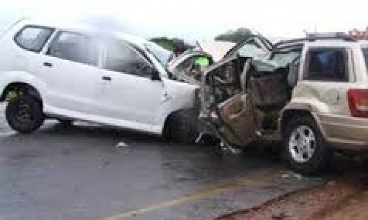 إصابة مدير نيابة ووكيل نيابة وعقيد بالقوات المسلحة في حادث تصادم ببني سويف