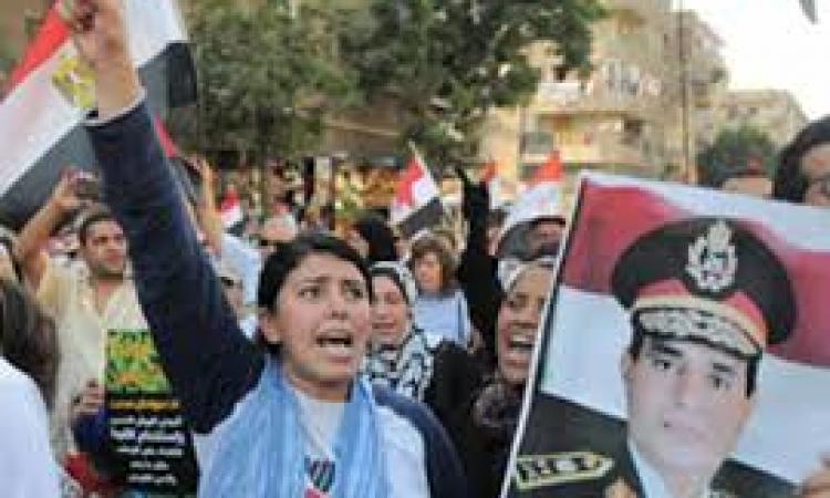 """""""السيسى رئيسًا """" تحصل على تصريح لإحياء ذكرى 25 يناير"""