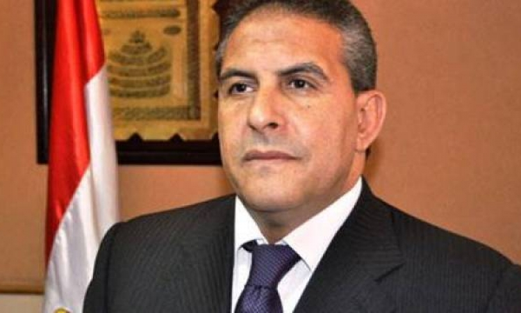 وزير الرياضة يصل ديوان عام محافظة الإسماعيلية