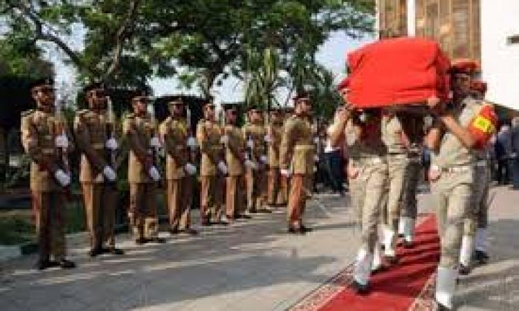 جنازة عسكرية للواء محمد السعيد عقب صلاة العصر