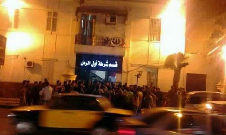 """انفجار عبوة ناسفة جوار""""قسم الرمل أول"""" بالإسكندرية"""