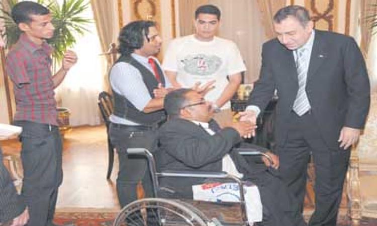 دورات تدريبية لمتحدي الإعاقة  في عدة مهن بالإسماعلية