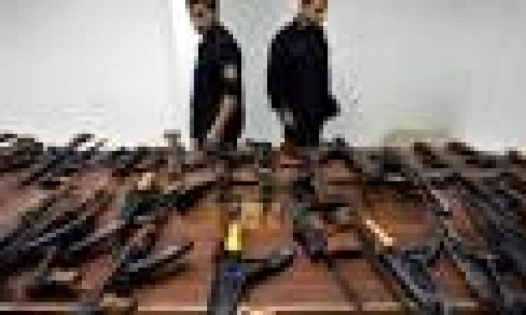 ضبط 80 سلاح نارى وتنفيذ 14 ألف حكم قضائى