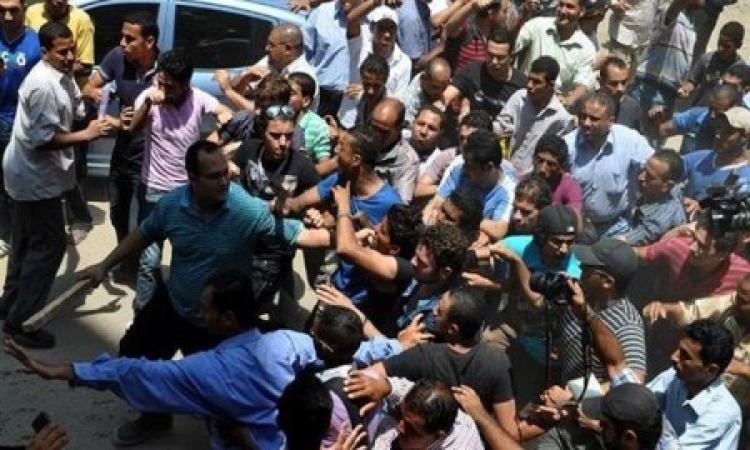طلاب الأخوان يحاولون إقتحام مدرية أمن الجيزة
