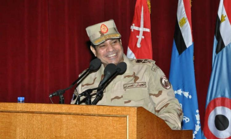 """مصادر : """"السيسي"""" أعلن ترشحه بعد صلاة استخارة"""