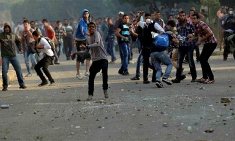 مصرع مواطن واصابه6حصيله اشتباكات الشرطة والاخوان بالفيوم
