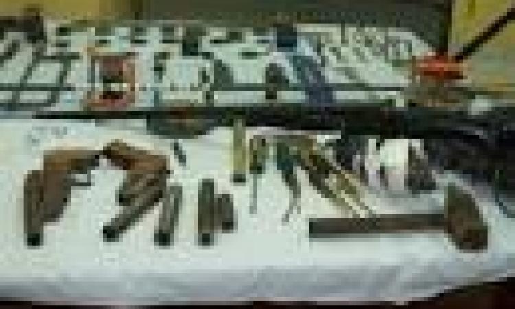 ضبط ورشة لتصنيع الأسلحة النارية بسوهاج