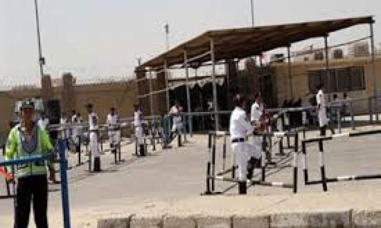 حالة من الهدوء امام اكاديمية الشرطة واخلاءها من انصار مرسي