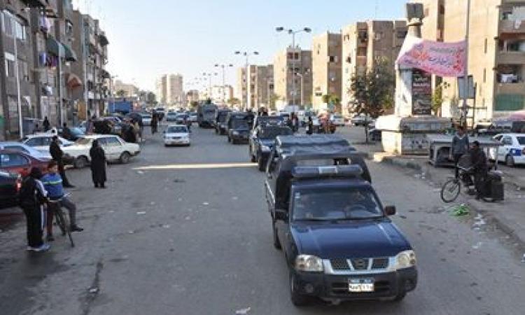 دوريات تنتشر في القاهرة للتأمين والتصدي للخارجين