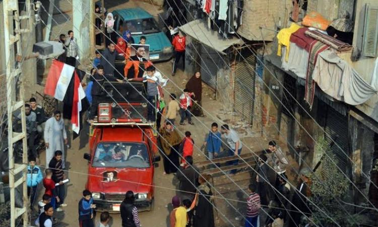 7 مسيرات لأهالى المنوفية إحتفالا بعيد الشرطة
