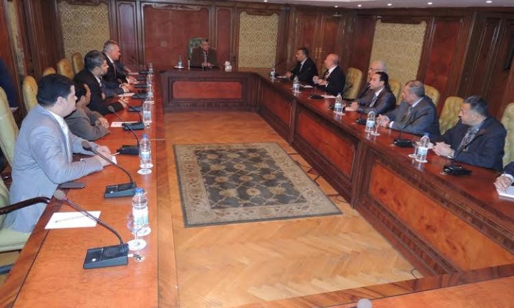 وزير الداخلية يجتمع برؤساء الاحزاب فى اطارالتعاون لمحاربة الارهاب