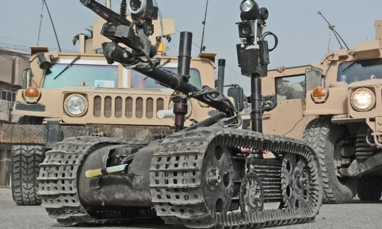 """""""تالون 4″روبوت إسرائيلى لتفتيش الأنفاق"""