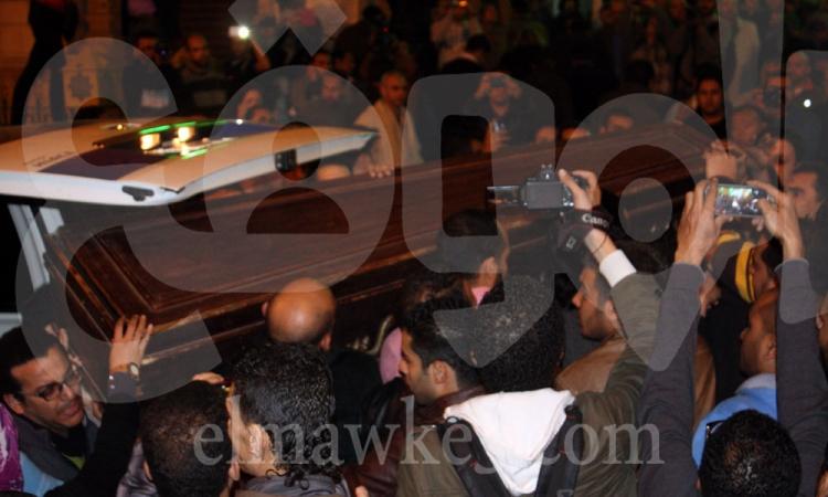 تشييع جنازة شهيد الشرطة بالشرقية