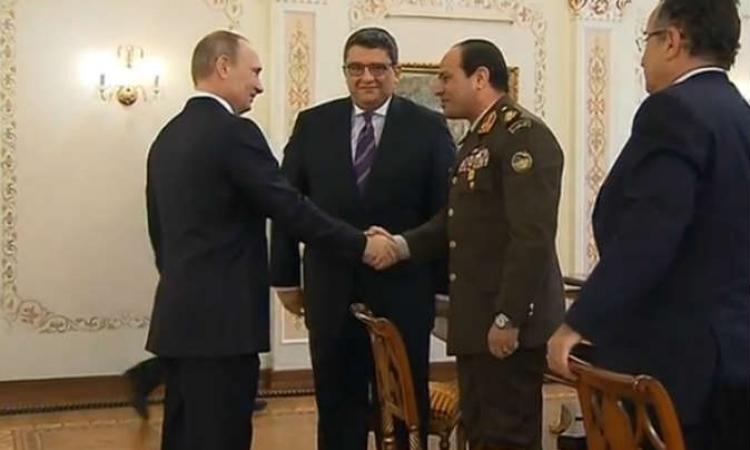 وصول وفد عسكرى روسى رفيع المستوى