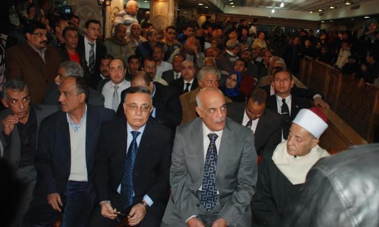 """محافظ سوهاج في عزاء """"ضحايا ليبيا"""": المتآمرون يزرعون الفتن بين العرب"""