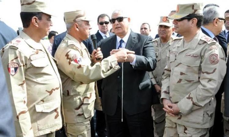 بالصور..منصور والسيسى والببلاوى يفتتحون  مشروعات جديدة للقوات المسلحة