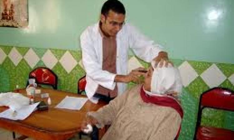 قافلة طبية بجامعة المنوفية تعالج 200 مريض بقرية البتانون
