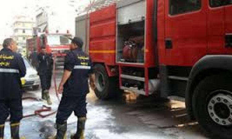 مصرع 7 أشخاص في حريق بمخزن للزيوت في البساتين