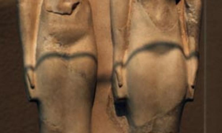 ضبط مزارع وبحوزته تمثالان من الحجر الجيرى بالمنيا