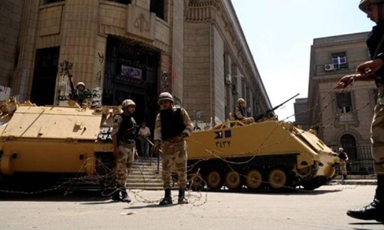 """إجراءات أمنية بـ""""القضاء العالي """" تحسبا لتظاهرات الإخوان"""