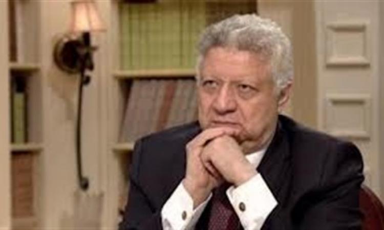 """مرتضي منصور يعلن نية الترشح للرئاسة  أمام المشير """" السيسي """""""