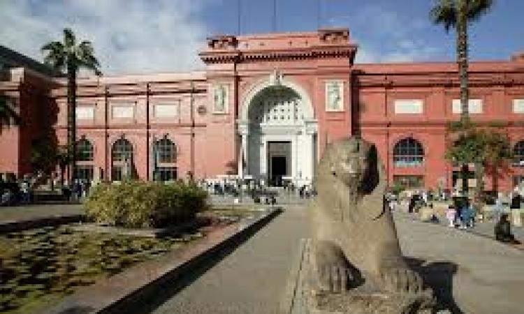 المتحف المصرى يستقبل زواره رغم الحرب على الإرهاب