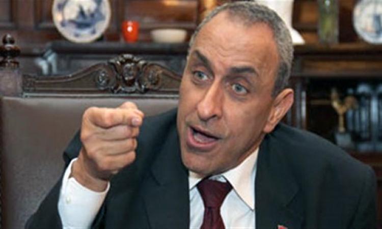 وزير الزراعة يطالب الداخلية  بإنشاء جهاز شرطى لازاله التعديات