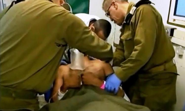 بالفيديو ..مستشفي سري تابعة للجيش الإسرائيلي  تعالج عناصر داعش والنصرة