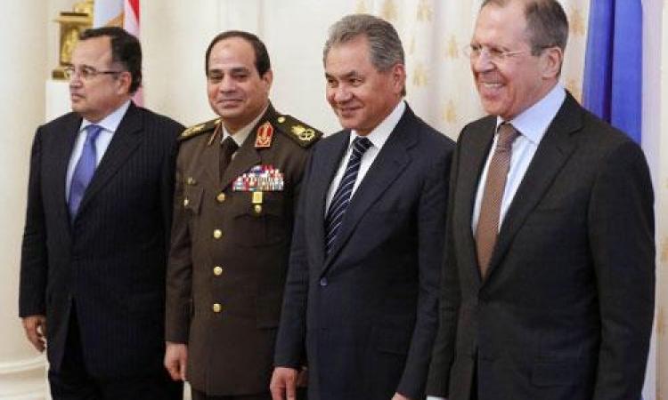 تفاصيل مباحثات السيسي وفهمي بموسكو حول العلاقات العسكرية و أزمة المياه