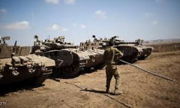 مناورات عسكرية إسرائيلية واسعة في الأغوار الشمالية