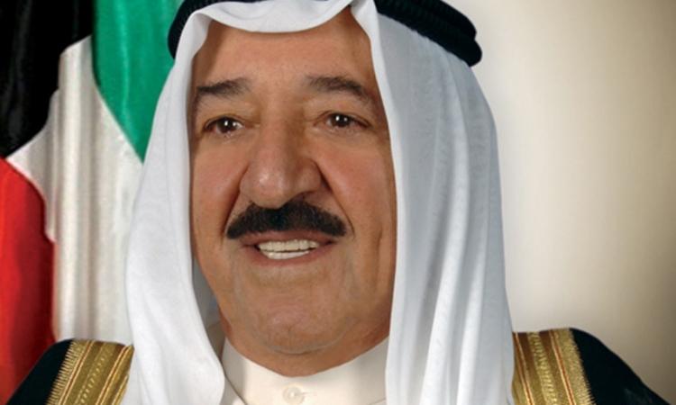 أمير الكويت لشيخ الأزهر: مصر قائدة الأمة العربية