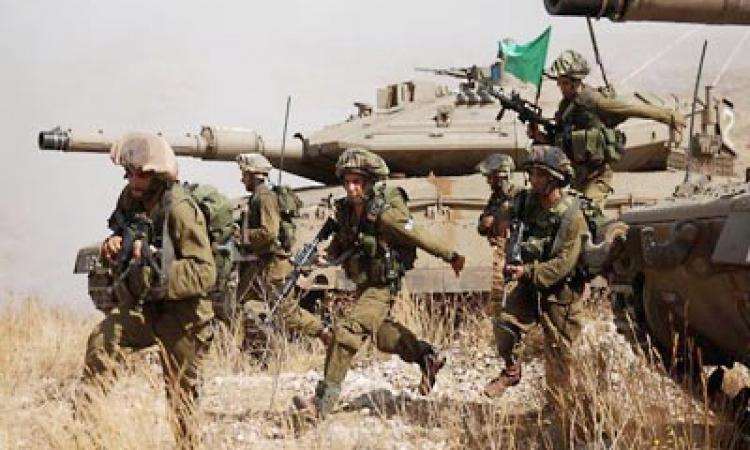 العاشرة الإسرائيلية : قادة إسرائيليون يبدون استعداهم لاجتياح برى لقطاع غزة