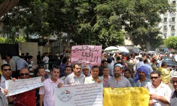 قائمة معلمى الاستقلال برشيد تكتسح قائمة الإخوان بنقابة المعلمين