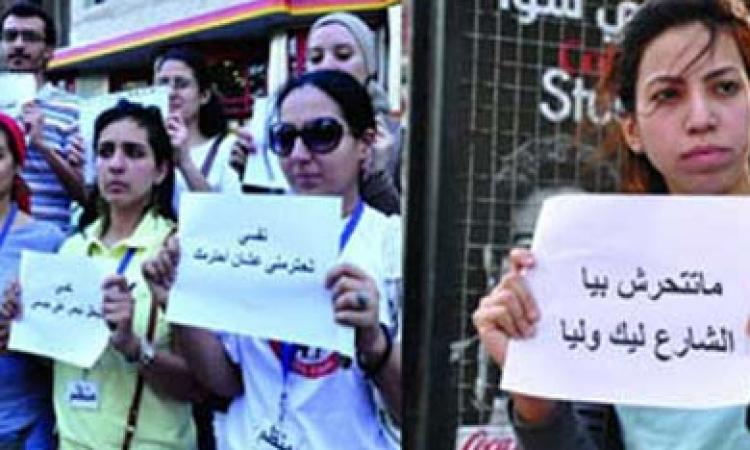 """"""" شفت تحرش"""" تعلن عن فاعلية """" لا للتحرش"""" بموقف عبد المنعم رياض"""