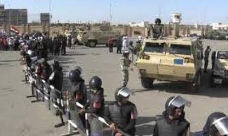 تعزيزات امنية امام دار القضاء العالى