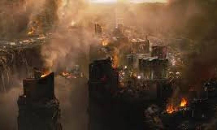 نهاية العالم صباح الاربعاء القادم
