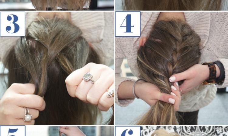 بالصور .. تعلمي في 5 خطوات كيف تصنعي قصة شعر جديدة