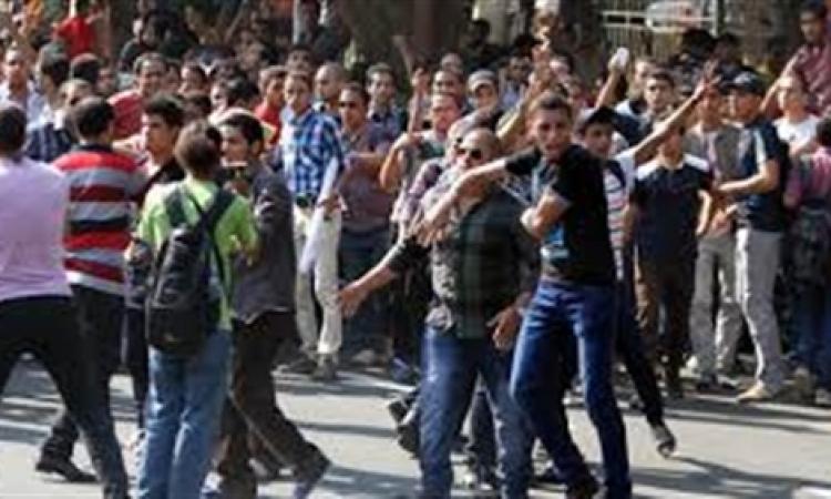 """بالصور.. مسيرات احتجاجاية لطلبة الإخوان تنديدا بمقتل طالب """"علوم الإسكندرية"""""""
