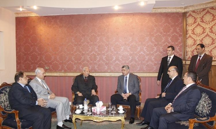 بالصور وزير العدل يفتتح قاعة للنظر في قضايا الارهاب