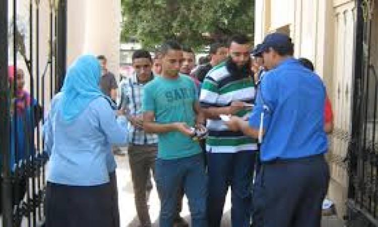 الأمن الإدراي يعزز تواجده بالحرم الجامعي تحسباً لمظاهرات الأخوان