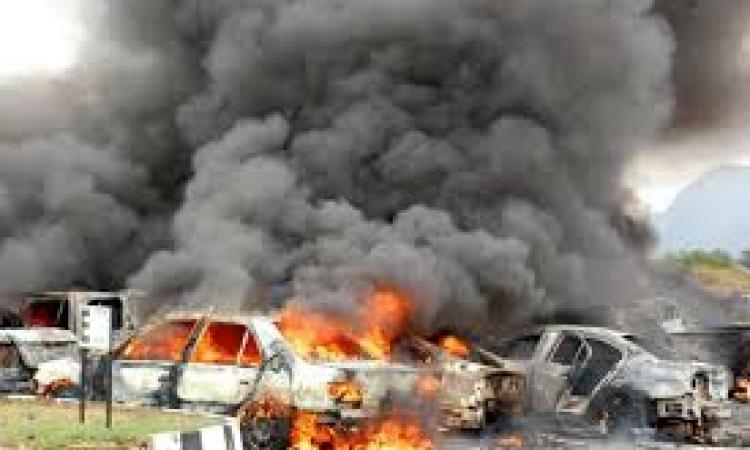 21 قتيلا و70 مصابا في سلسلة تفجيرات بسيارات مفخخة في بغداد