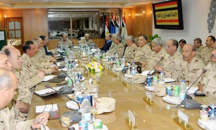 ننشر أول صورة لأعضاء المجلس العسكري الجديد