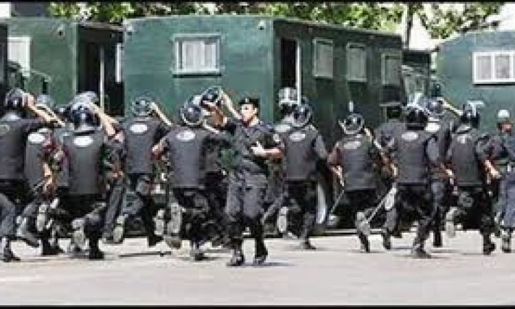 """الأمن يفرق مسيرة الإخوان في ميدان سوارس بـ""""المعادي"""" """
