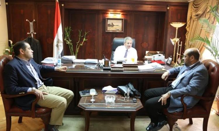 وزير الرياضة يبحث مع أعضاء الجبلاية أوضاع الكرة المصرية