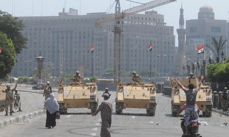 تكثيف أمنى فى محيط ميدان التحرير