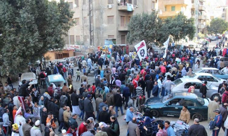 بدء مسيرات الإخوان بحي عين شمس