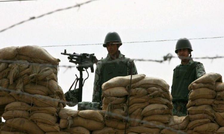 إطلاق نار من الحدود المصرية على قوة عسكرية إسرائيلية دون إصابات