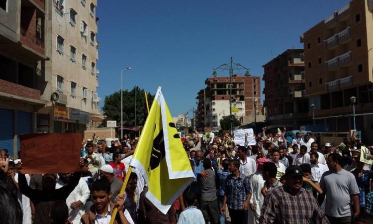 مسيرات الإرهابية تنطلق عقب صلاة الجمعة وتشتبك مع الأمن والأهالي